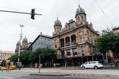 Stary Kolejowy Terminal w Budapest zdjęcie stock