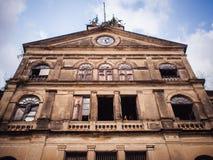 Stary kolonialny architektura styl w Bangkok Zdjęcia Stock