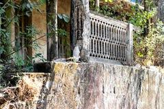 Stary kolonialny budynek w Goa India fotografia stock