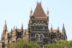 Stary kolonisty styl buduje Mumbai w ind zdjęcie stock