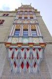 Stary kolorowy budynku szczegół w Halle dera Saale Fotografia Royalty Free