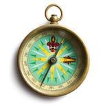 Stary kompas Zdjęcie Royalty Free