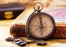stary kompas Fotografia Royalty Free