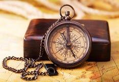 stary kompas Fotografia Stock