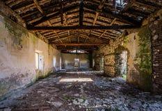 Stary koncentracyjny obóz Le Fraschette, Alatri, Włochy Zdjęcia Royalty Free