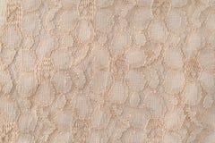 Stary koronkowy tkaniny zakończenia widok Zdjęcia Royalty Free