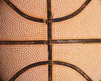 Stary koszykówki zakończenie up zdjęcie royalty free