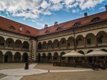 Stary królewski kasztel w Niepolomice, Polska Zdjęcia Stock