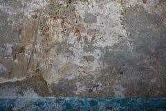 Stary krakingowy betonowy rocznik ściany tło, zamyka up obraz royalty free