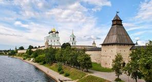 Stary Kremlin Pskov w Rosja Obraz Stock