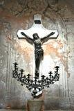 Stary krucyfiks Fotografia Royalty Free