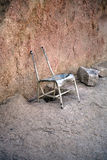 Stary krzesło Zdjęcie Royalty Free