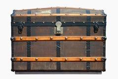 stary kufer podróży zdjęcia stock