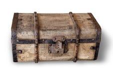 stary kufer pojedynczy zdjęcia royalty free