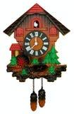 Stary kukułka zegar Zdjęcia Stock