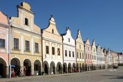stary kwadratowego miasta Obraz Stock