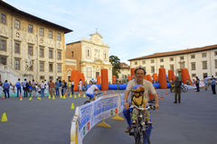 Stary kwadratowy Pisa Włochy Fotografia Stock