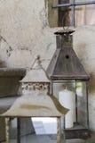Stary lampion zdjęcie royalty free