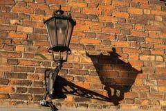 Stary lampion, pochodnia Zdjęcie Royalty Free