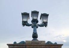 Stary lampion w Budapest, Węgry Zdjęcie Royalty Free