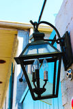 Stary lampion w Nowy Orlean Zdjęcia Royalty Free