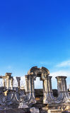 Stary lato pałac w Chiny Obrazy Royalty Free