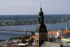stary Latvia miasteczko Riga zdjęcia stock