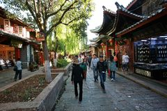 stary lijiang miasteczko Obrazy Stock