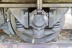Stary linii kolejowej koło Fotografia Stock