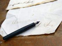 stary list Zdjęcia Royalty Free