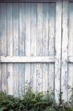Stary ślizgowy stajni drzwi Obrazy Royalty Free