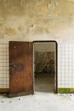 Stary lochu drzwi obraz stock