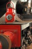 Stary lokomotoryczny floodlight Fotografia Royalty Free