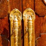 stary London drzwi wewnątrz, drewno i ancien abstrakt zależącego od fotografia stock