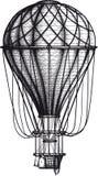 Stary Lotniczy Ballon ilustracja wektor