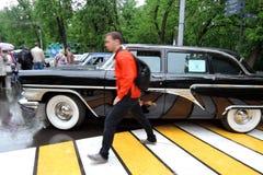 stary luksusowy samochód Obrazy Royalty Free