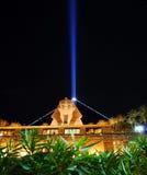 stary Luxor noc Zdjęcie Stock