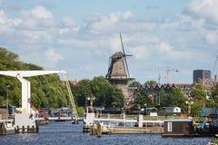 Stary młyn, Amsterdam Zdjęcie Stock