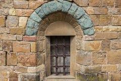 Stary mały okno Zdjęcie Stock