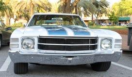 Stary chevroleta samochód zdjęcie stock