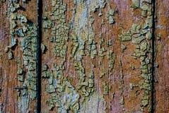 stary malowaniu drewna Zdjęcie Royalty Free