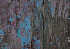 Stary malujący drewniany tło zdjęcie royalty free