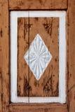Stary malujący ornamentacyjny element Zdjęcia Royalty Free