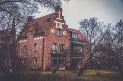 Stary manse w Uppsala, Szwecja Obraz Royalty Free