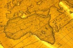 Stary mapa d Zdjęcie Stock