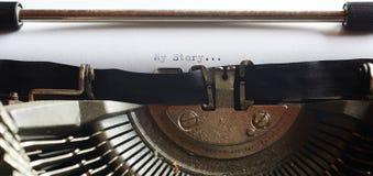 Stary maszyna do pisania Obrazy Stock