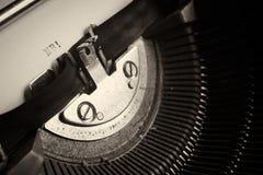 Stary maszyna do pisania Zdjęcie Stock