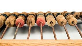 Stary matematycznie kalkulatora abakus Fotografia Stock