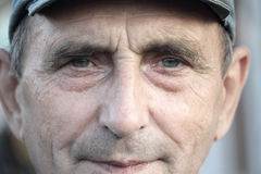 stary mężczyzna portret Obrazy Stock