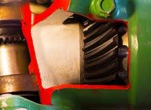 Stary mechanizm motorowa przekładnia Zdjęcie Royalty Free